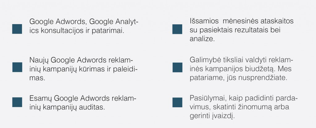 Google Adwords Verslui